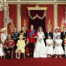 Official Family at Duke & Duchess of Cambridge's wedding - 454 x 293
