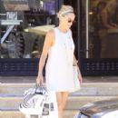 Sharon Stone shops Barneys New York in Beverly Hills, California on June 23rd, 2012