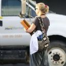 Kate Hudson – Leaving the set of 'Mona Lisa and the Blood Moon' in New Orleans