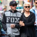 Singer Pink and her husband Carey Hart out shopping in New York City, New York on April 27, 2014 - 453 x 594