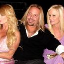 Vince and Lia Neil with Taylor Wane - 445 x 356