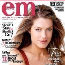 Tara Moss n cover of Empower magazine