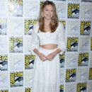 Melissa Benoist: Comic-Con International 2018 - 'Supergirl' Press Line
