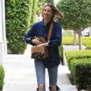 Whitney Port in Ripped Jeans – Out in West Hollywood