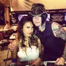 DJ Ashba and Natalia Henao