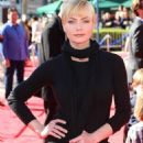 Jaime Pressly The Lego Movie Premiere