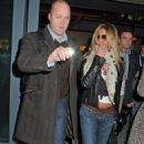 Jennifer Aniston - Arrives Into Heathrow Airport - March 10, 2010
