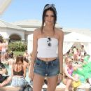 Kendall Jenner At 2014 Coachella Lacoste Beautiful Desert Pool Party