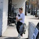 Hilary Duff – Out shopping at Big 5 sporting goods in LA