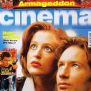 Gillian Anderson and David Duchovny - Cinema Magazine Cover [Germany] (August 1998)