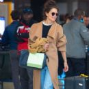 Katie Holmes – Arrival at JFK Airport in New York