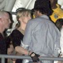 Madonna and Jesus Luz in Rio de Janeiro Feb. 11, 2010