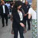 Shannen Doherty – Arrives at Good Morning America in New York City - 454 x 707