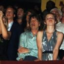 Sir Mick Jagger and Georgia May Jagger attends the party at Motion after the first performance of the musical 'The Harder They Come' at the Playhouse Theatre on June 9, 2008 in London, England - 454 x 302