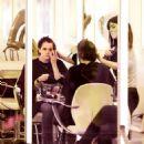 Emma Watson At A Hair Salon In New York City
