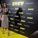 Sarah Wayne Callies attends Colony' Tv Series Season 1 - Madrid Premiere on March 7, 2018 in Madrid, Spain