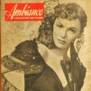 Ruth Roman - Ambiance Magazine Pictorial [France] (March 1948)