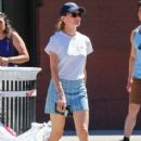 Actress Diane Kruger is spotted out running errands in New York City, New York on August 23, 2016
