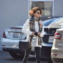 Sarah Hyland – Leaves pilates session in Studio City