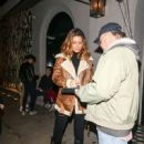 Maria Menounos Is Seen At Craig's Restaurant In West Hollywood