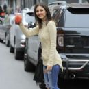 Victoria Justice Street Style Out In Brooklyn