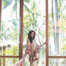 Nargis Fakhri Models For Pakistani Designer Shehla Chatoor - 454 x 681