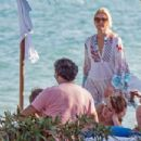 Valeria Mazza – Enjoys a Holiday With Her Family on the Beach in Marbella 8/11/2016 - 454 x 303