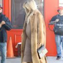 Khloe Kardashian in Long Coat – Arrives at a A Baby Shop in Los Angeles - 454 x 611