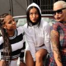 Amber Rose, Karrueche, Christina Milian, and Vanessa Simmons Participate in the Shift to Coachella Event in Los Angeles, California - April 10, 2015