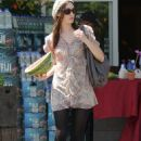 Emmy Rossum - Picks Up A Watermelon At Bristol Farms - September 9, 2010
