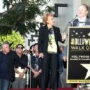 Buddy Holly honored posthumously with star on the Walk of Fame. Hollywood, CA.September 7, 2011