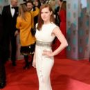 Amy Adams attends the EE British Academy Film Awards at The Royal Opera House on February 8, 2015 in London, England