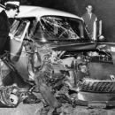 Montgomery Clift left a party at Liz and Michael Wilding's house in Beverly Hills on the night of May 12, 1956, he hit a telephone pole. His '55 Bel Air was totalled - 454 x 258