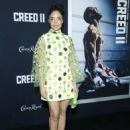 Tessa Thompson – 'Creed 2' Premiere in New York - 454 x 635