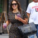 Ashley Graham in Long Dress – Out in NYC - 454 x 658