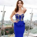 Bérénice Marlohe: at the 'Skyfall' Photocall on the roof of the Ritz Carlton Hotel in Moscow