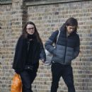 Keira Knightley and James Righton Out Shopping in London - 454 x 681
