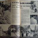 Annie Girardot - Festival Magazine Pictorial [France] (8 November 1960)
