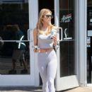 AnnaLynne McCord – Leaving Starbucks in West Hollywood