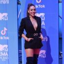 Danna Paola-   MTV EMAs 2018 - Red Carpet Arrivals - 400 x 600