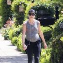 Stacy Keibler – Baby Bump as She Steps out for a walk in Beverly Hills
