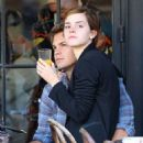 Emma Watson grabbed lunch with her boyfriend, Johnny Simmons, today, September 9