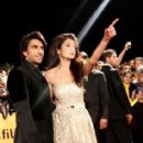 Ranveer Singh and Anushka Sharma at Ladies v/s Ricky Bahl Premier