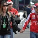 Felipe Massa and Rafaela Bassi