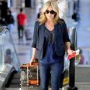 Jane Krakowski - LA Airport, 17-01-11