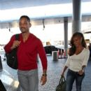 Will Smith and Jada Pinkett Smith prepare to depart out of Los Angeles International Airport