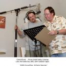 Studio Stills photos of Cars: Larry the Cable Guy (left), John Lasseter (right)