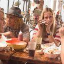 Jay (Emile Hirsch), Tony (Victor Rasuk), Stacy (John Robinson), and Sid (Michael Angarano) grub at burger joint. - 357 x 253