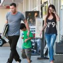 Megan Fox And Brian Austin Green Picking Up His Son From Karate Class 2