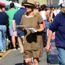 Jessica Collins at the Farmer's Market in Studio City - 454 x 657